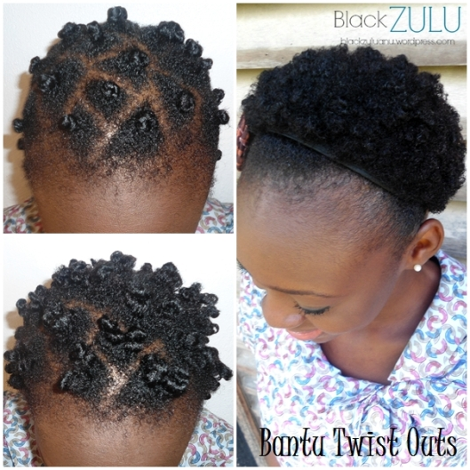 Bantu Twist Outs