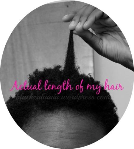 Actual-hair-length