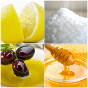 lemon_sugar_olive_oil_honey_scrub