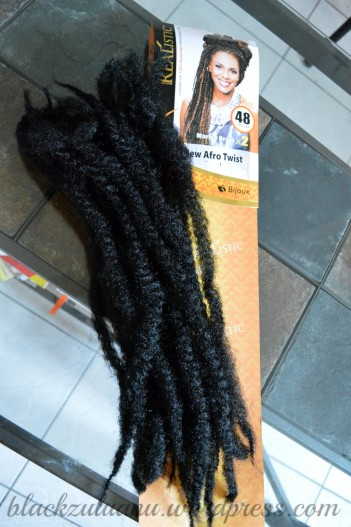 One brand of marley braids (very hard and dry)