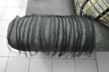 Marley braid seperated