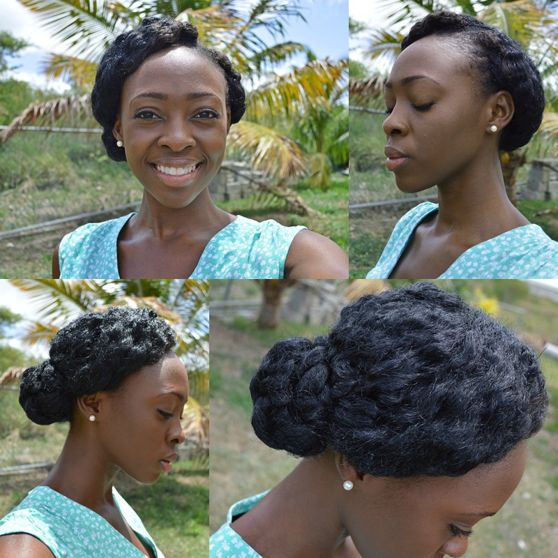 Crochet Braids Up In A Bun : Crochet Marley Braids: Style #2 - The Twisted Side Bun [2 variations ...