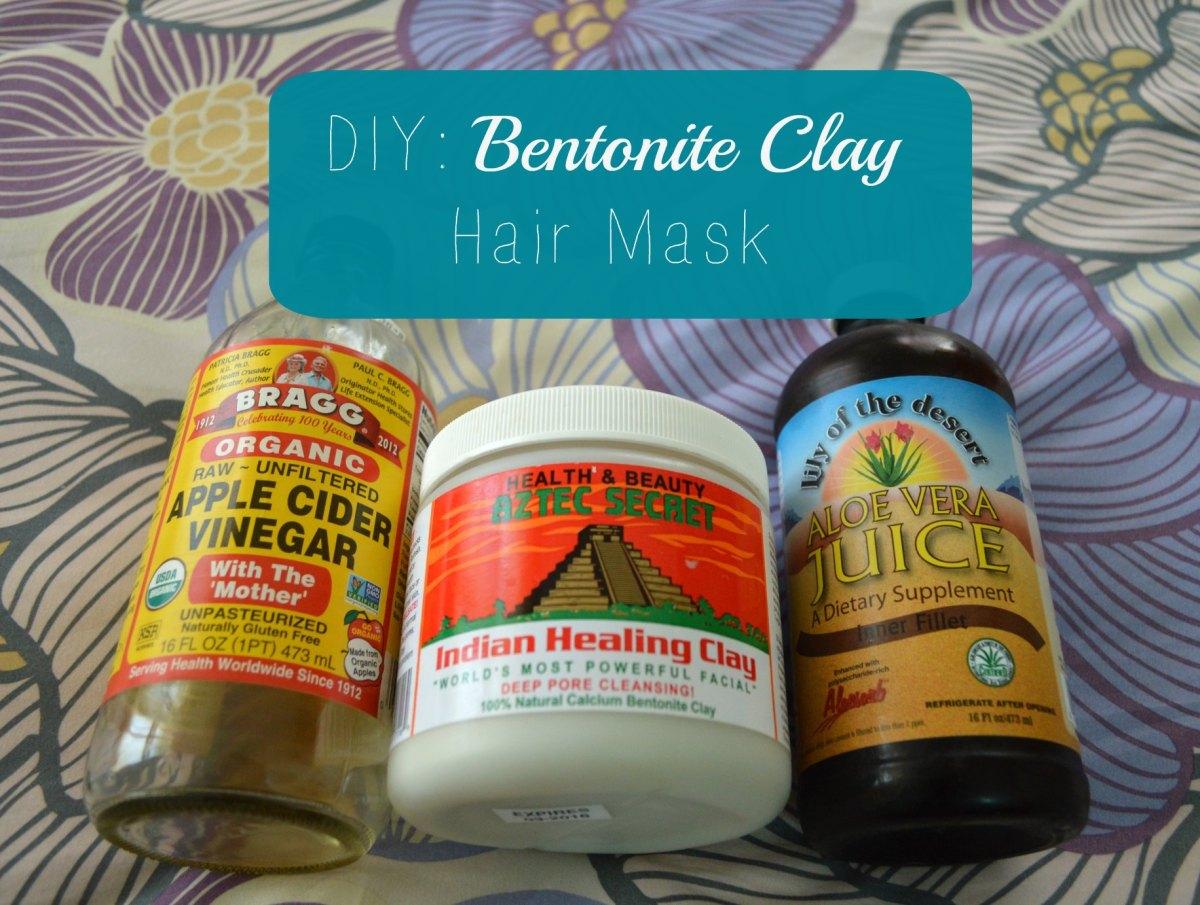Diy Bentonite Clay Hair Mask Black Zulu