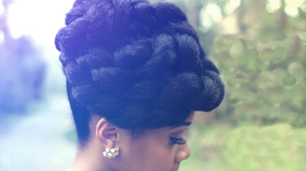 Updo by My Natural Sistas
